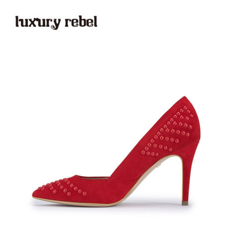 luxury rebel 女单鞋L71180137红色
