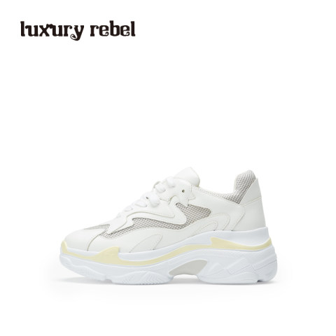 LR女鞋Luxury Rebel 2019春季新款厚底老爹鞋女增高休闲鞋运动鞋