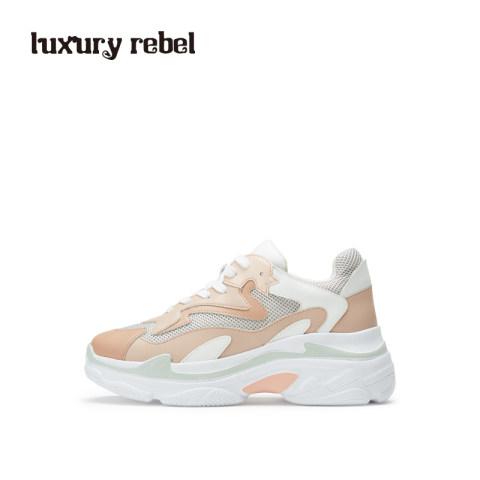 LR女鞋Luxury Rebel2019春季新款老爹鞋女厚底休闲鞋运动鞋