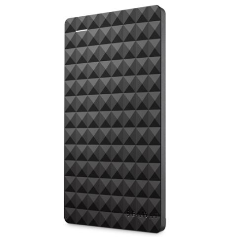 希捷(seagate)Expansion 新睿翼1TB 黑钻版USB3.0 2.5英寸 移动硬盘 经典黑 (STEA100040